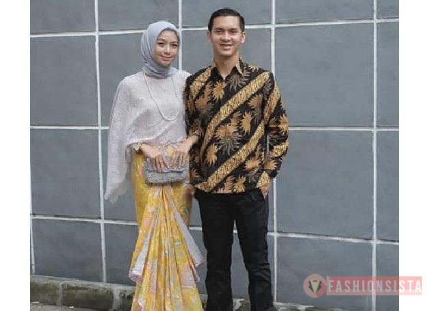 Model Kebaya Couple Terbaru Rok Duyung Silver