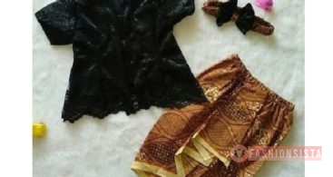 30+ Model Dress Pesta atau Gaun Kebaya Terbaru Modern 2020
