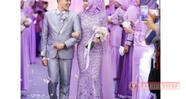 Model Baju Kebaya Couple Ala Superman Lavender