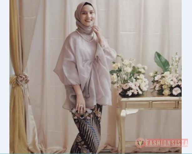 Model Kebaya Modern Blouse Coksu