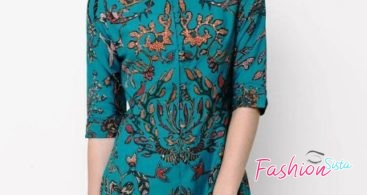 Model Kebaya Brokat Kutubaru Modern Soft Blue