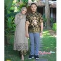 Batik couple brokat fashionsista