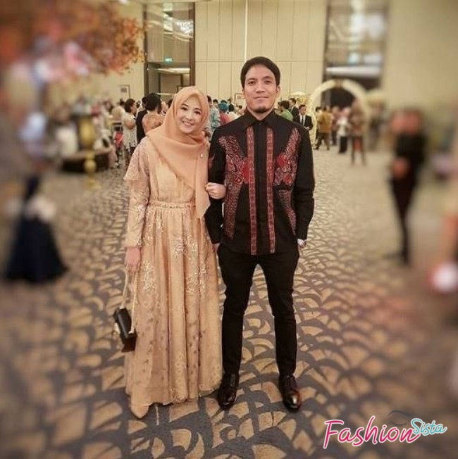 Batik couple brokat modern