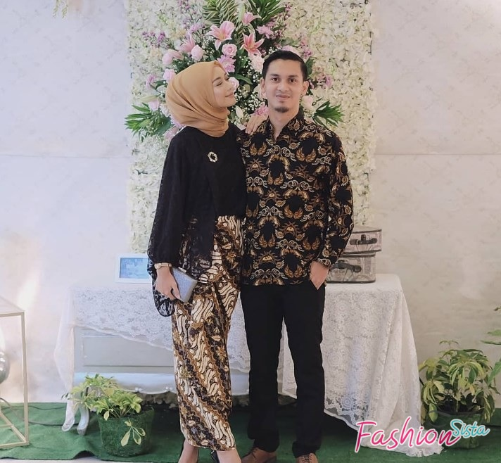 Model Baju Batik Couple Modern Terbaru Fashionsista 1