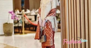 Baju Kebaya Couple Model Duyung Baby Pink