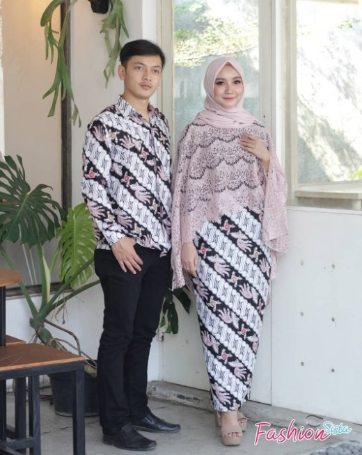 model baju batik couple simple