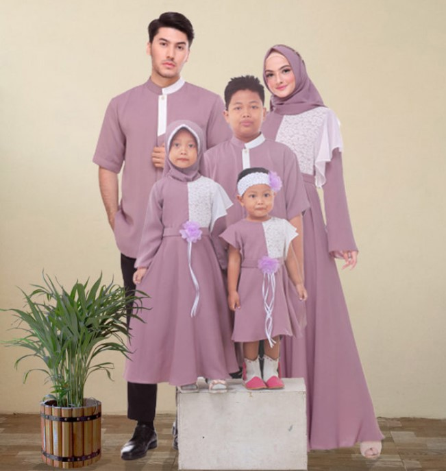 Gamis Couple Model Batwing